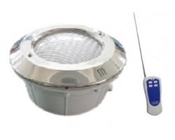 KIT Caja, Marco y Lámpara LED PAR56 18X3 12V 54W RGB con Mando
