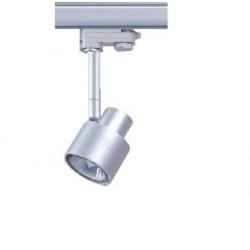 Foco Gris ó Blanco, Carril trifasico LED, Lámpara GU10