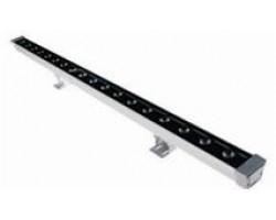 Foco LED exterior bañador pared lineal 24W 1000mm