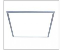 Panel LED 600X600mm 40W Samsung Marco Gris con Driver Regulable 0-10V
