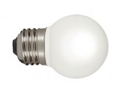 Lámpara LED Esferica E27 2W Blanca